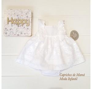 Jesusito bebé niña de Mon Petit plumeti blanco