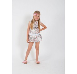 Vestido niña Trendy de Kauli flores