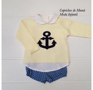 Conjunto bebé niño de Valentina Bebés estrellas