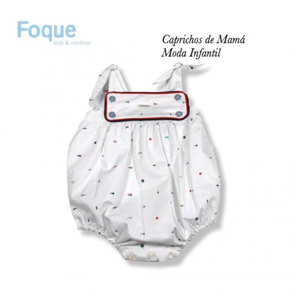 Pelele bebé de Foque baderas náuticas