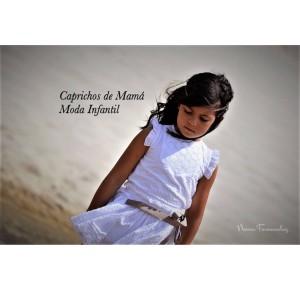 Camisa y falda niña Lencera de Noma Fernández