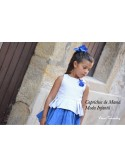 Conjunto falda Anouk de Noma Fernández azulón
