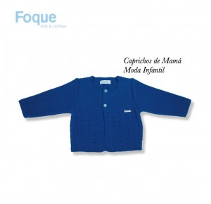 Chaqueta bebé niño de Foque azul marino