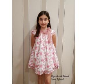 Vestido niña Dulcinea de La Martinica