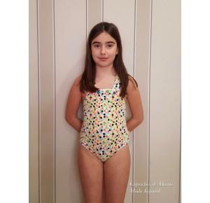 Bañador niña Golosina de Sonia Roura multicolor