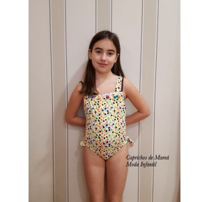 Trikini niña Golosina de Sonia Roura multicolor