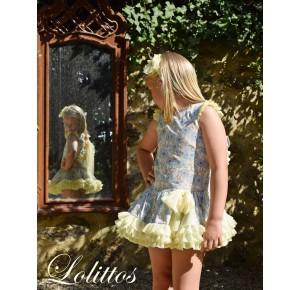 Vestido niña Lima de Lolittos