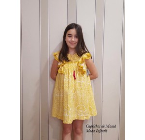 Vestido niña de Mon Petit étnico