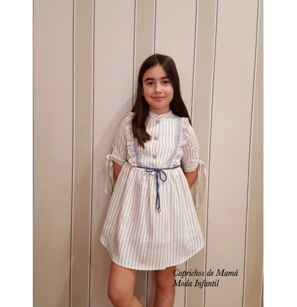 Vestido niña Leyre de Kauli camisero