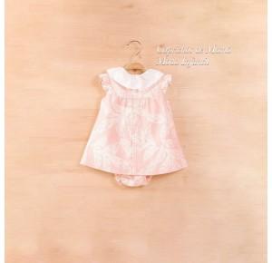 Jesusito bebé niña Pluma de Dadati rosa