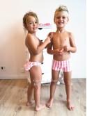 Bóxer niño Algodón rosa de Sonia Roura