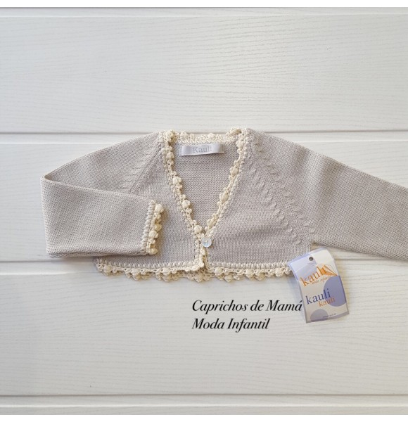 Chaqueta bebé Plata de Kauli
