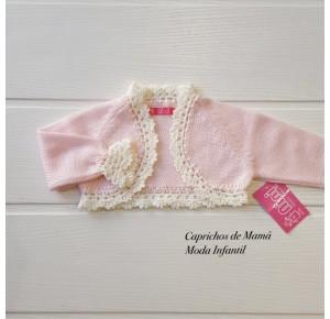 Chaqueta bebé niña de Nini rosa