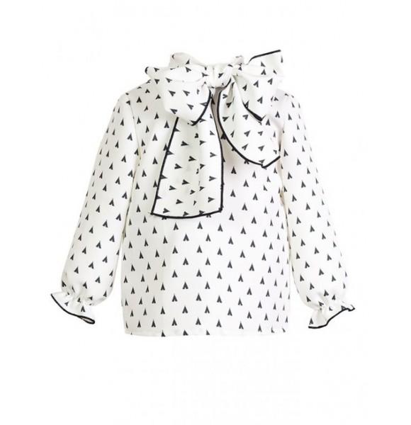 Camisa niña Tepee de Eve Children lazada cuello