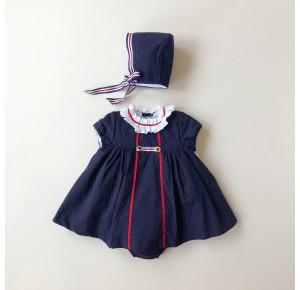 Jesusito bebé niña Moscú de Kauli azul marino