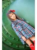 Conjunto niña blusa y falda Aneto de Noma Fernández