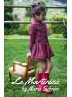 Vestido niña London de La Martinica tartán rojo