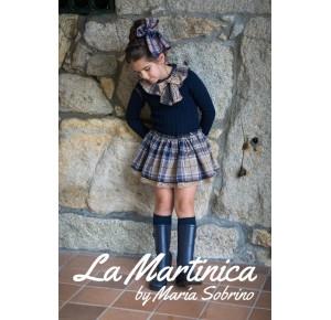 Vestido niña New York de La Martinica de punto