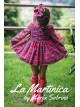 Jesusito bebé niña London de La Martinica tartán rojo