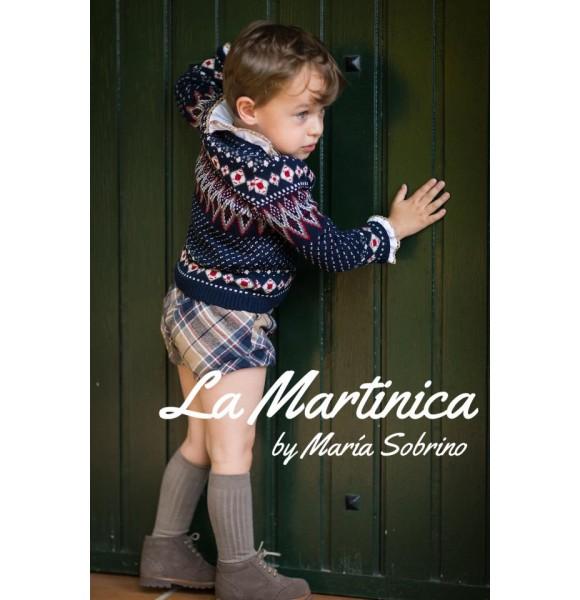 Conjunto bebé niño New York de La Martinica marino