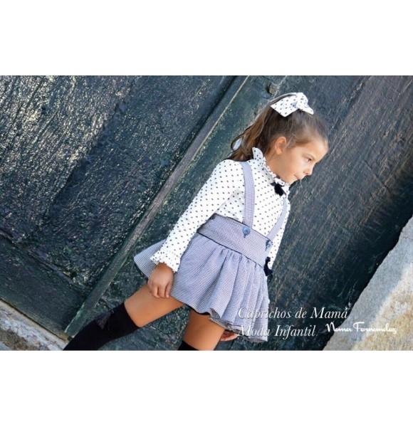 Conjunto blusa y falda Mont-Blanc de Noma Fernández