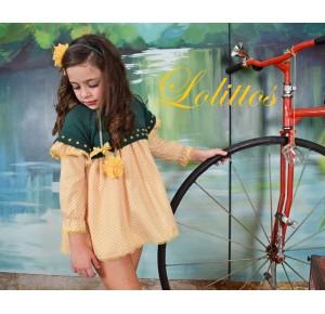 Vestido niña Desierto de Lolittos con jersey