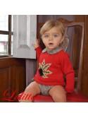 Jersey bebé niño Nogal de Lolittos