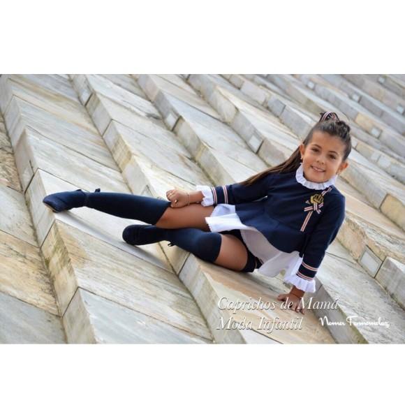 Conjunto niña blusón y short Everest de Noma Fernández