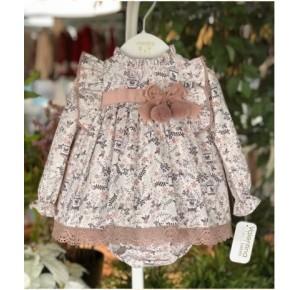 Jesusito bebé niña de Valentina Bebés pájaros rosa