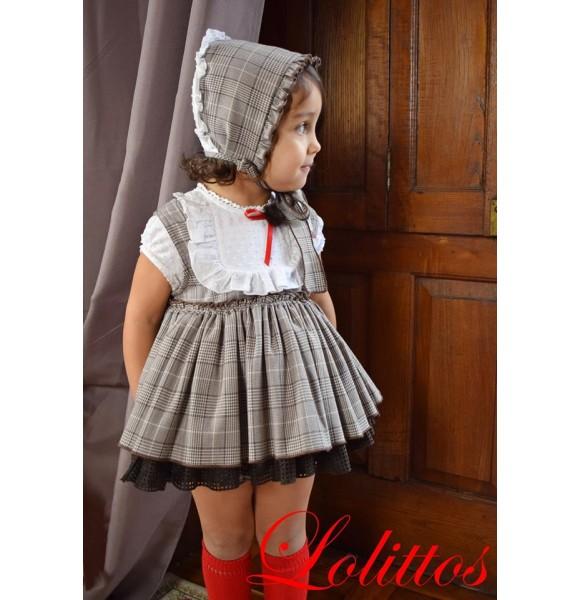 Jesusito bebé niña Nogal de Lolittos cuadro gales
