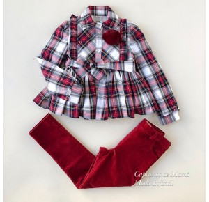Conjunto niña blusón y pantalón Faro de Noma Fernández