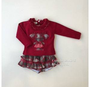 Conjunto niña jersey y short Pepona de Lolittos