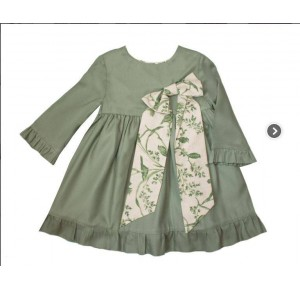 VESTIDO VERDE DE EVE CHILDREN