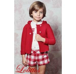 Conjunto niño Caperucita de Lolittos pantalón recto