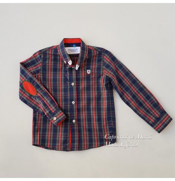 Camisa niño Olite de Nachete cuadro escocés