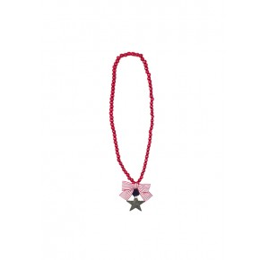 Collar Skull de Eve Children rojo