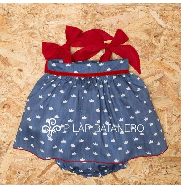 Jesusito bebé niña Coronas de Pilar Batanero
