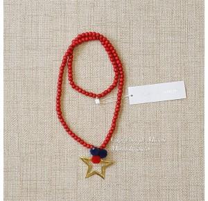 Collar madroños rojo de Pilar Batanero