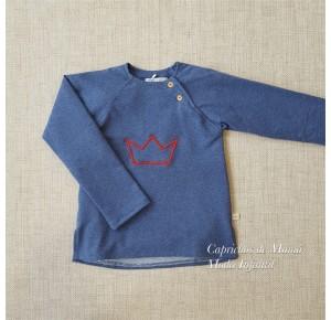 Jersey niño Coronas de Pilar Batanero azul