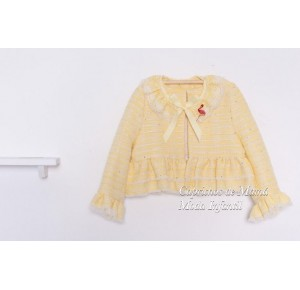 Chaqueta niña Lemon de Kauli chanel amarillo