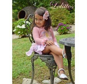 Conjunto niña jersey y bombacho Pomposa de Lolittos