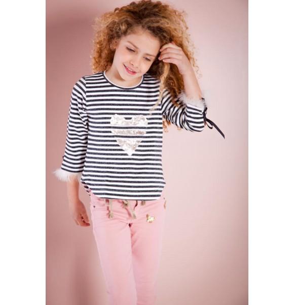 Pantalón niña Young&Chic de Kauli rosa