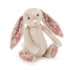Peluche conejo estampado orejas de Jellycat