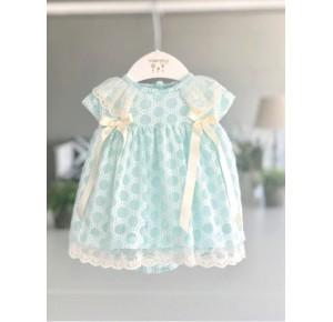 Jesusito bebé niña de Valentina Bebés verde agua