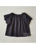 Falda niña de Mía y Lía gris y negra