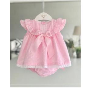 Jesusito bebé niña de Valentina Bebés plumeti rosa