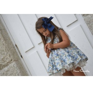 Vestido niña Acuario de Noma Fernández flores